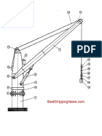 Cargo Gear Deck Crane