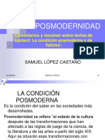 Post-Modernidad (Lyotard).pdf