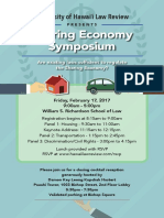 UH Law Review Sharing Economy Symposium