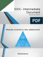 IDOC- Intermediate Document