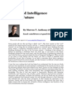 Integrated Intelligence and the Future