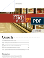 Supermarket Prices BookletJan2017