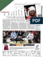 Haiti Sei Mesi Dopo (Corriere Della Sera)