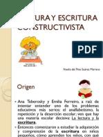 LECTURA Y ESCRITURA