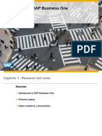 Introducción a SAP Business One