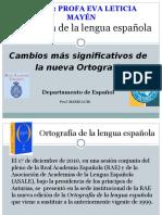 CAMBIOS EN LAS REGLAS DE ORTOGRAFIA.ppt
