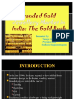 Branded Gold Jewellery Market in India