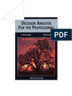 Decision Analysis for the Professional