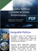 Geografia Politica General