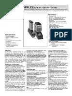 Gefran GFX Datasheet