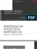 5. Sistemas de Inyección Históricos