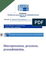 Documentos Seminario Gestión Por Procesos en Las Administraciones Públicas