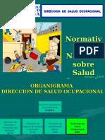 Normativa Nacional Salud Ocupacional