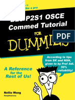 Commed OSCE Tutorial for Dummies 2