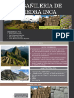 GRUPO N°10 - ALBAÑILERIA EN PIEDRA INCA