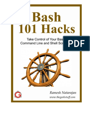 Bash 101 Hacks | Command Line Interface | Operating System