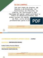 03 e 04 Aulas Slides Empreendedorismo Semipresencial
