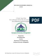 Lab Manual of Transportation Engineering