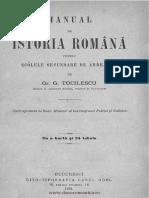 Manual de istoria română - pentru scólele secundare de ambe-sexe