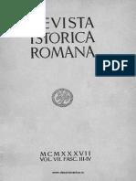 Revista istorică română, vol. 07, fasc. 3-4, 1937