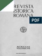 Revista istorică română, vol. 02, fasc. 2-3, 1932