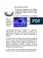 Big Bang y La Biogenesis