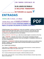 Tours en Trujillo