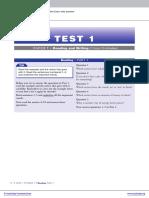 Reading Test Sample