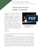 Interview du Dr. Francis Fontan, chirurgien cardiaque