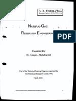 Gas reservoir engineering ( U. Abdulhamid )