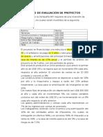 Ejercicio de Evaluacion de Proyectos Caso Extenso
