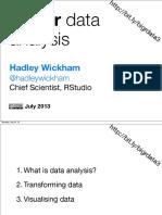 LondonR - BigR Data - Hadley Wickham - 20130716