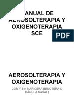 Manual Aerosolterapia y Oxigenoterapia
