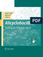 Alicyclobacillus Thermophilic Acidophilic Bacilli