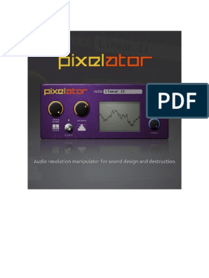 Pixelator | License | Sampling (Signal Processing)