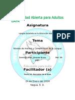 Tarea 2 Lengua Española en Educación Básica II Yocaelis