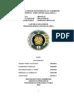 Laporan PKL 2016 USU. Agribisnis. Pertanian. Desa Bingkat. Juli-Agustus 2016
