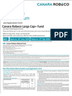 Canara Robeco Large Cap Plus Fund Form