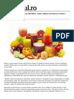 Cele Mai Puternice Sucuri Care Detoxifica