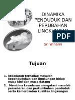 8. Dinamika Penduduk Dan Perubahan Lingkungan(1)