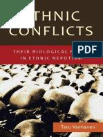 Ethnic Conflicts - Tatu Vanhanen (2012)
