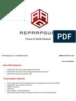Reprapguru Prusa i3 Build Manual v1.3