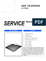 Samsung Gt-p7500 Galaxy Tab 10.1 3g Service Manual -