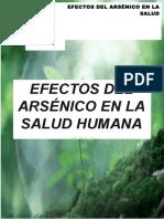 Efectos Del Arsénico en La Salud