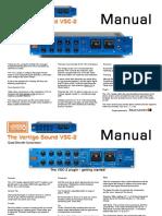 Vertigo VSC-2 Manual