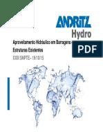Palestrasexpositores 19 Ggh Aproveitamento Hidraulica Em Barragens e Etruturas Existentes