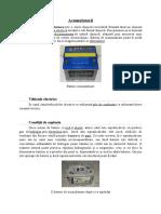 Proiect chimie - Acumulatorii