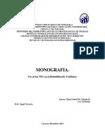 Monografia Rehabilitación Vestibular