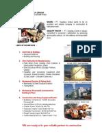 Company Profile PTSWG