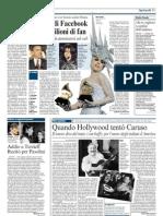 Enrico Caruso e Gli Emigranti Italiani (Corriere Della Sera)